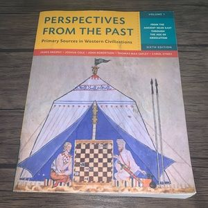 Perspectives From The Past six edition